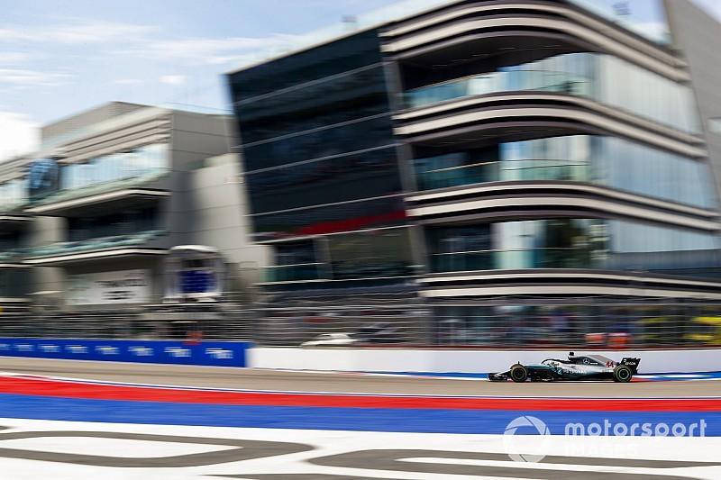 ロシアGP:FP2はメルセデス1-2。ガスリー8番手に躍進!