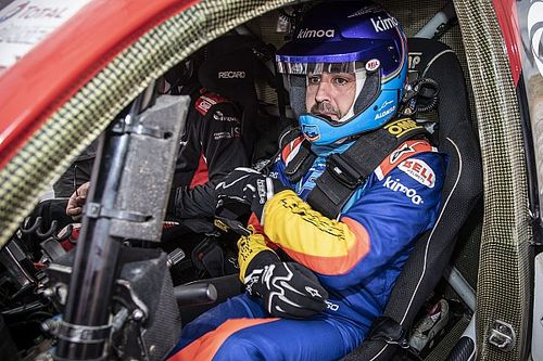 アロンソとTOYOTA GAZOO Racing、ダカールラリー2020に向け準備を開始