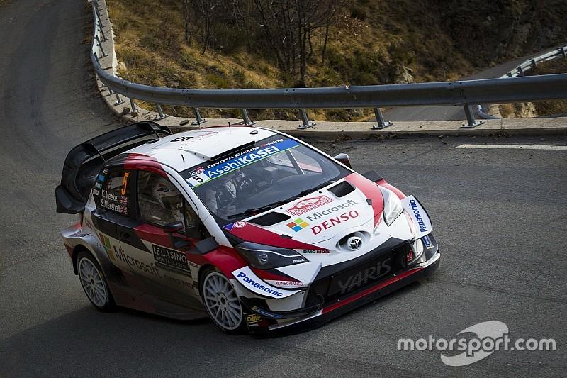 El Toyota de Meeke se impone a los Hyundai en el shakedown del Rally México