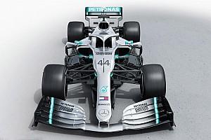 Mercedes presenta su nuevo auto para la Fórmula 1 2019