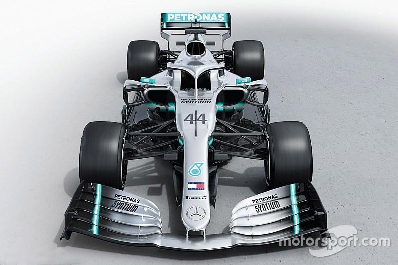 Mercedes представила болід для сезону Ф1 2019 року