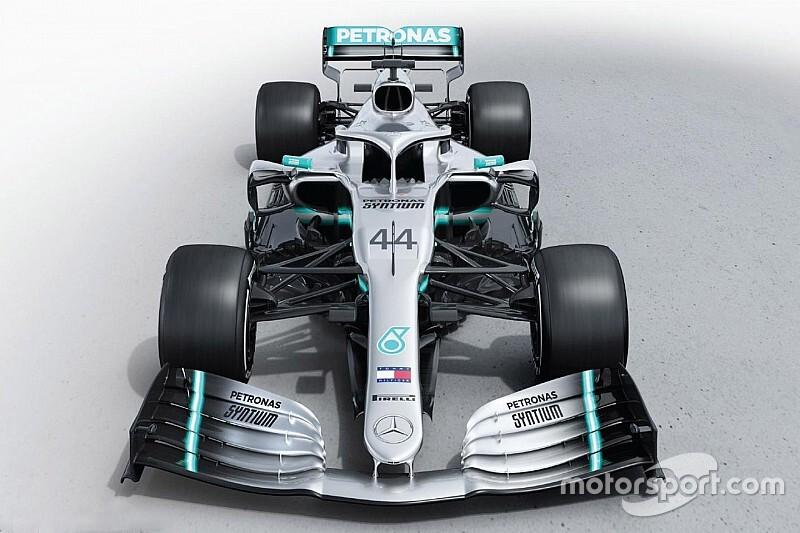 Itt a 2019-es F1-es Mercedes, a W10: nincs extra festés