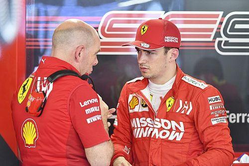 """Leclerc: """"Sono deluso. Chiedevo di tornare in pista, ma nessuno mi ha risposto"""""""