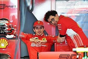 Sikap Leclerc tuai pujian dari Ferrari