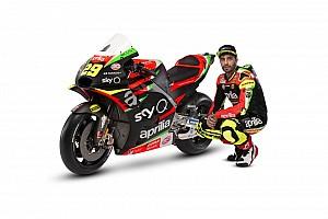 Aprilia reveals overhauled 2019 MotoGP livery