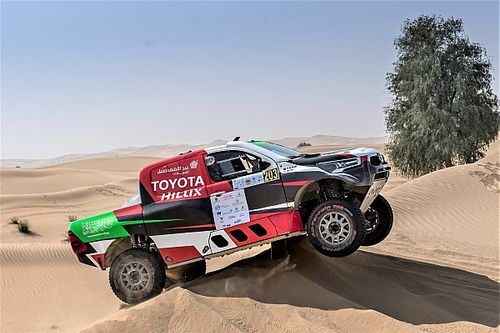 رالي أبوظبي الصحراوي: المنافسات المحتدمة تعدُ بمعركةٍ حماسية بين كبار المنافسين