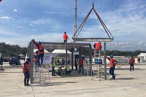 Sirkuit Mandalika Kini Sudah Dilengkapi Pit Building Modular