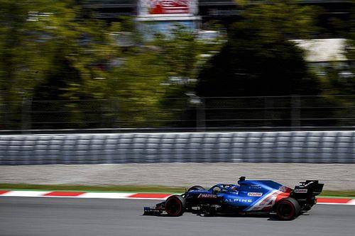 """Alonso, contento con la Q3 en Barcelona pese al """"lío"""" de tráfico"""