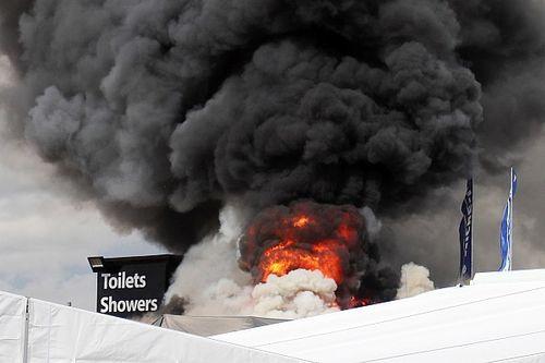 Fundraising page set up after devastating Snetterton paddock fire