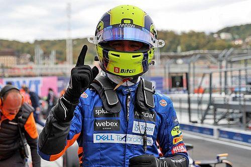 """Norris gana el """"Piloto del Día"""" del GP de Rusia F1"""