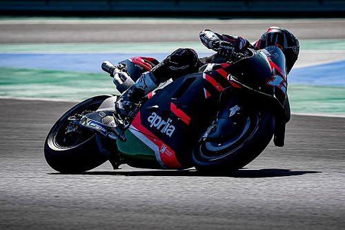 Vinales says Aprilia test 'happiest' he's ever been in MotoGP