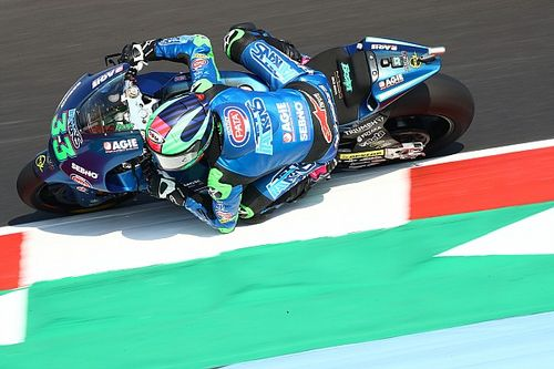 Moto2 - Emilia Romagna: Bastianini gana una carrera interrumpida y al esprint
