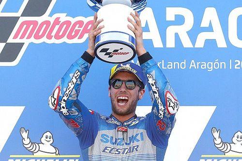Aragon MotoGP: Rins wins from Marquez, disaster for Quartararo