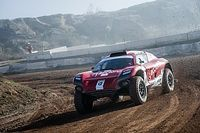 Sainz completa el primer test real de Extreme E en Alcañiz