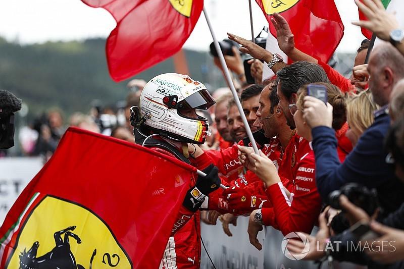 Formel 1 Belgien 2018: Die schönsten Bilder am Sonntag