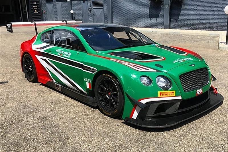 La Bentley approda nel Campionato Italiano Gran Turismo con gli ex F1 Larini e Caffi!