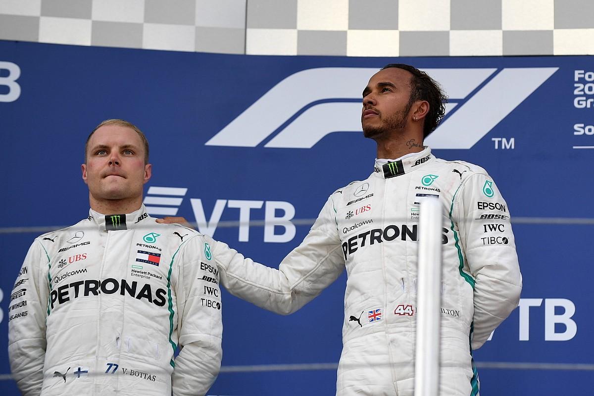 Wolff dice que la carrera de Rusia pilló a Mercedes a contrapié