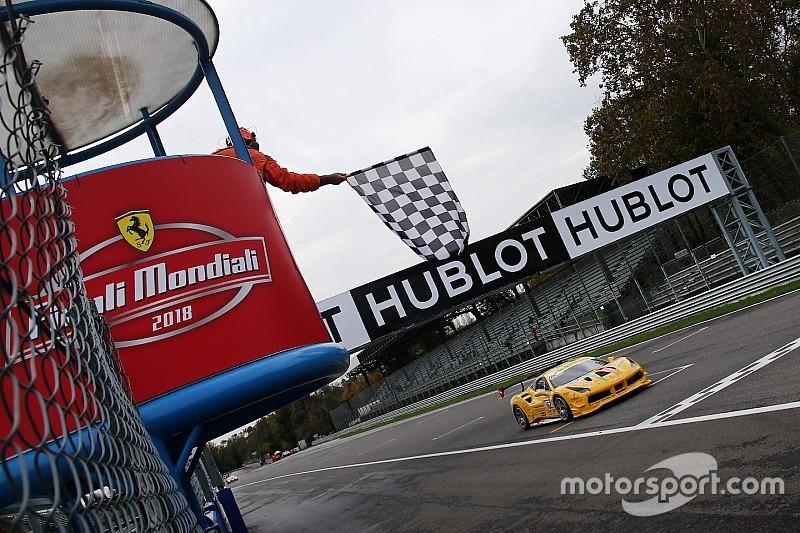 Christophe Hurni champion du monde de la Ferrari Coppa Shell