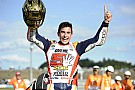 Márquez, tricampeón del mundo de MotoGP