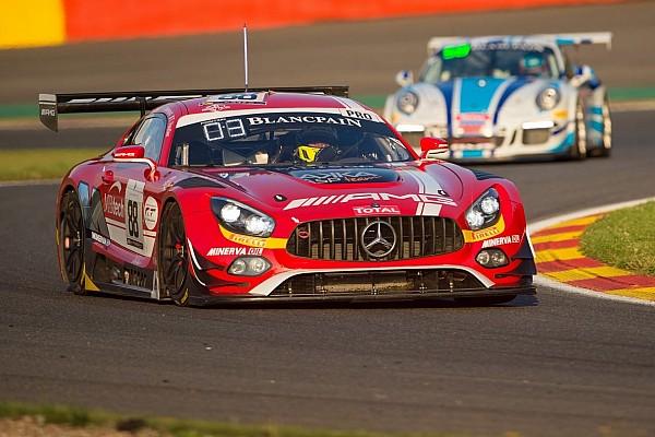 Mercedes-AMG scores podium success in Spa 24-hour race