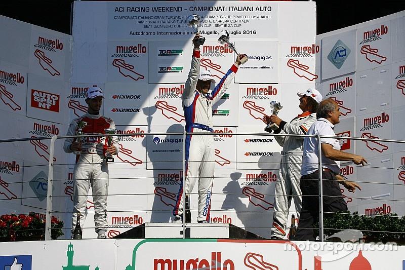 Sesto successo stagionale per Colciago in Gara 1 al Mugello
