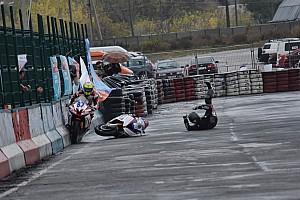UASBK Репортаж з гонки П'ятий етап, Супербайк та Суперспорт: Хайсайд Денисова та перемога Подлужного