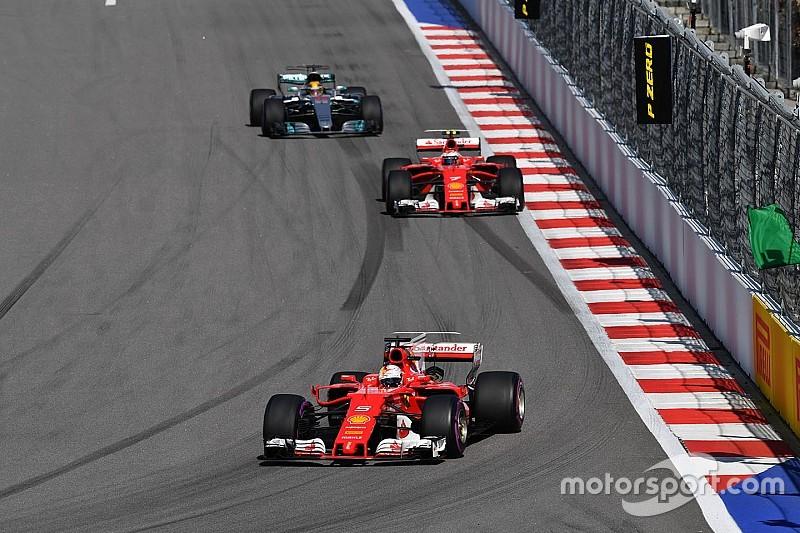 Marchionne: Ferrari est à nouveau craint par Mercedes