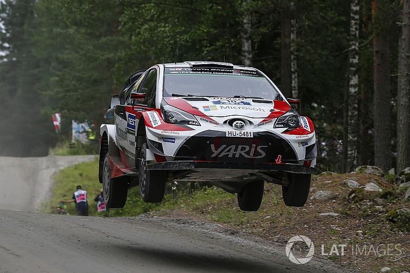 Finlandiya WRC: Cuma sabahında Latvala lider, Toyota 1-2