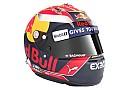 F1 Max Verstappen presenta el casco que lucirá en 2017