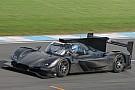 IMSA Mazda Team Joest, Donington Park'ta teste çıktı