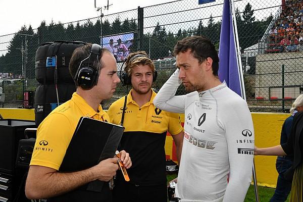"""F1 【F1】パーマーに復活の兆し? ルノー「スパでは""""別人""""のようだった」"""