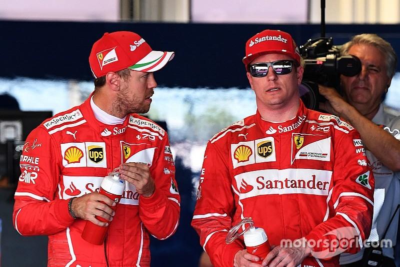 """Vettel & Räikkönen: """"Nem lesz csapatutasítás a Ferrarinál"""""""