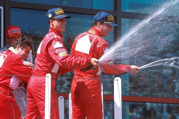 F1 Artículo especial El día que Ferrari volvió a hacer el 1-2 en la F1 tras ocho años