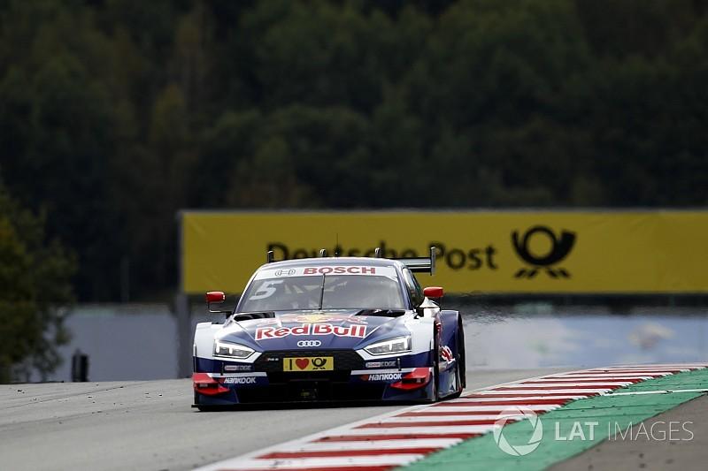 Course 1 - Triplé Audi, Ekström se positionne
