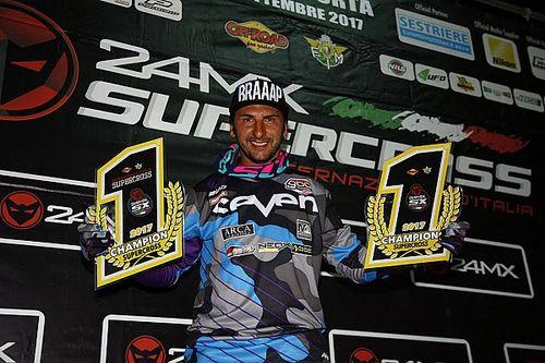 Matteo Bonini è campione italiano 2017 del Supercross