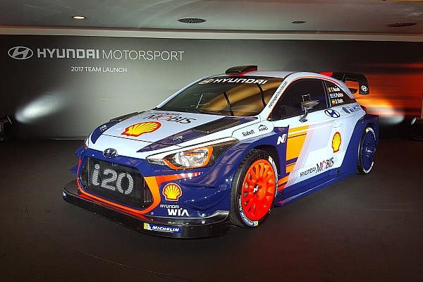 Fotogallery: la presentazione della Hyundai i20 New Generation WRC Plus