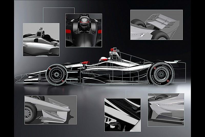 L'IndyCar dévoile un rendu de sa monoplace 2018
