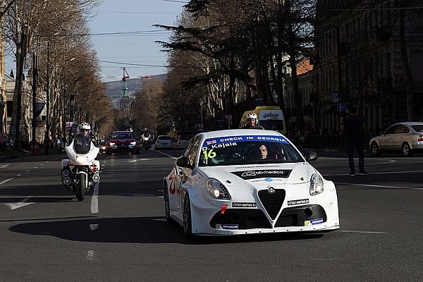 TCR Ultime notizie I protagonisti della TCR sfilano per il centro di Tbilisi