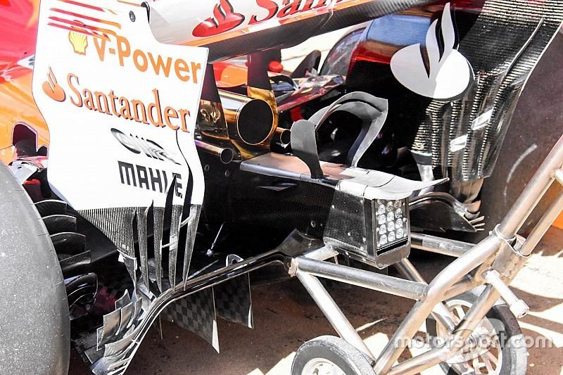 Ferrari: c'è l'estensione della struttura deformabile come sulla Mercedes
