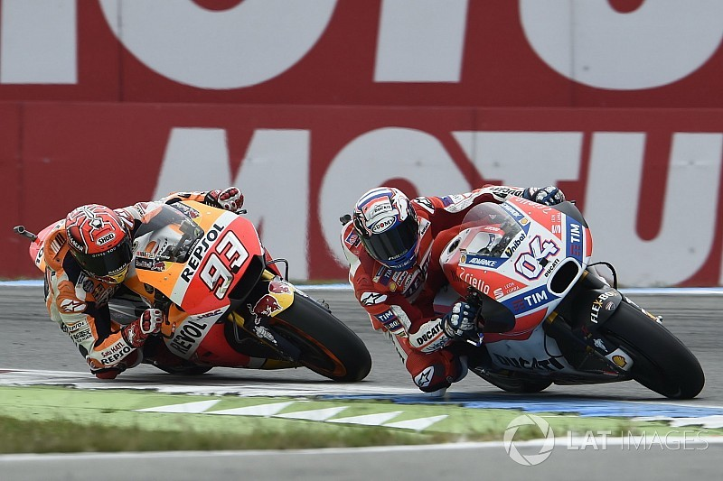 "Dovizioso: Risk was ""too high"" to fight for MotoGP hat-trick"