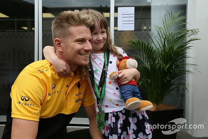 """Hulkenberg ve señales """"positivas"""" en Renault para 2018"""