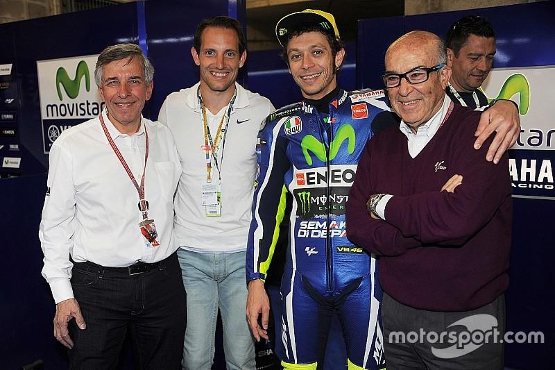 Rossi continuará mientras le apetezca correr