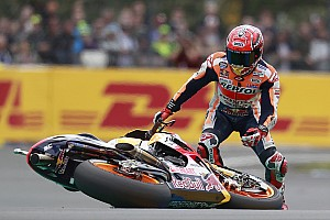 MotoGP News Statistik: Marc Marquez in MotoGP-Saison 2017 bereits 20 Mal gestürzt