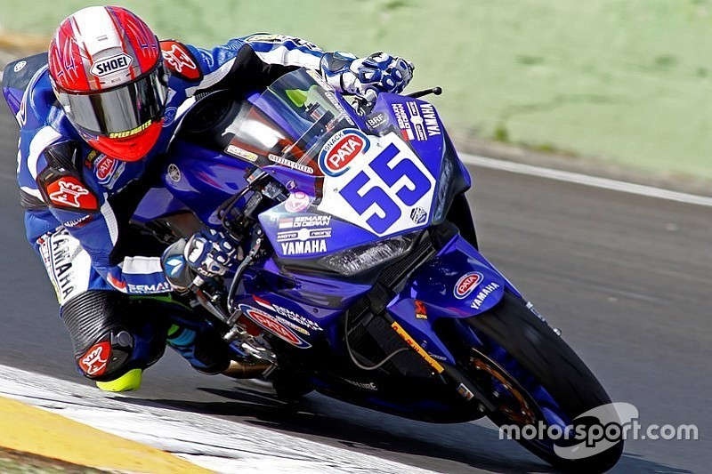 GALERI: Galang Hendra debut di World Supersport 300