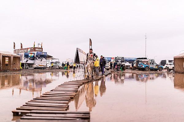 2017 Dakar'ın maraton etabı kötü hava şartları nedeniyle kısaltıldı