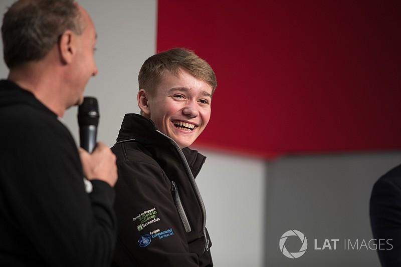 Monger blijft hopen op carrière in formulewagens