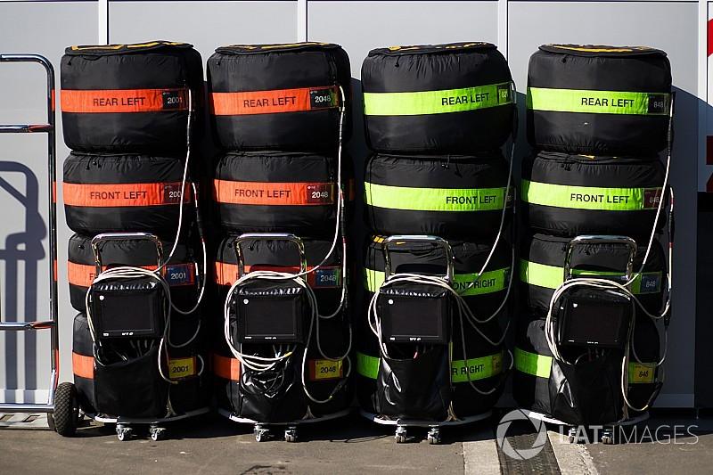Los equipos de F1 desechan el neumático medio para el GP de Brasil