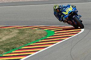 MotoGP Practice report Sachsenring MotoGP: Iannone tops FP3, Dovizioso to Q1