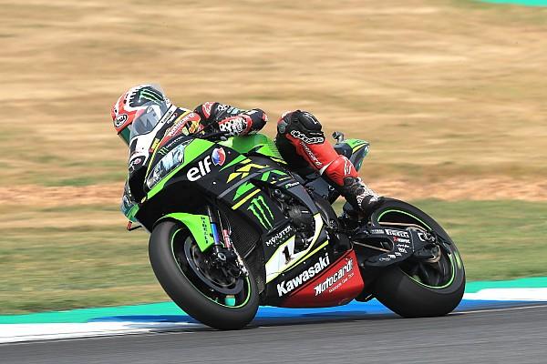World Superbike Qualifying report WorldSBK Thailand: Start terdepan, Rea unggul tipis 0,003 detik