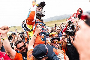 Dakar Stage report Dakar 2018: Walkner scores KTM's 17th straight win
